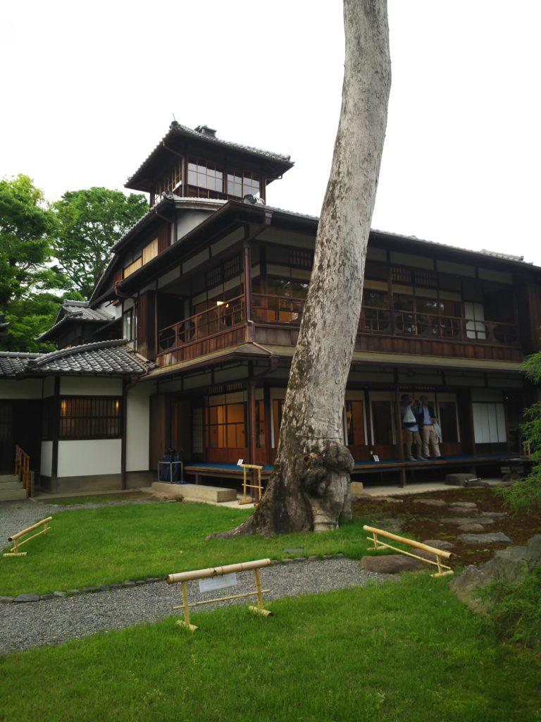 旧三井別邸の外観