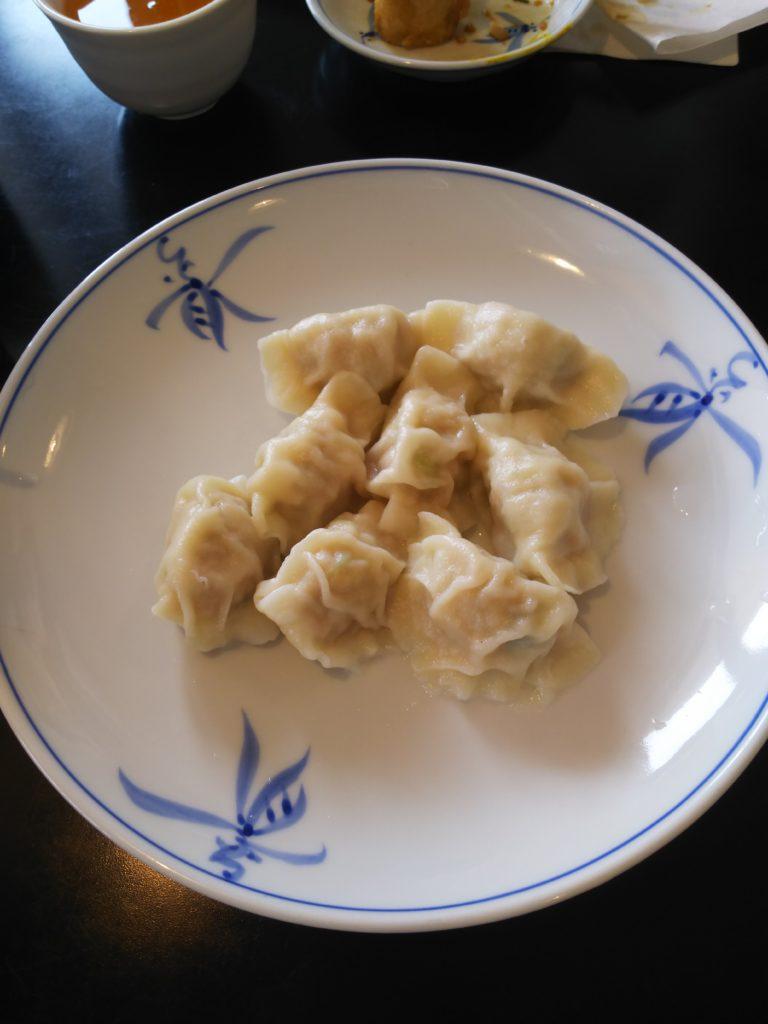 東華菜館の水餃子