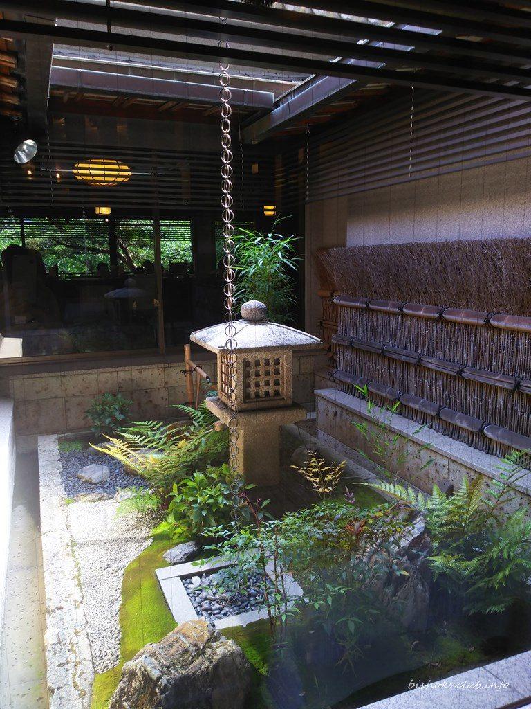 六盛の坪庭