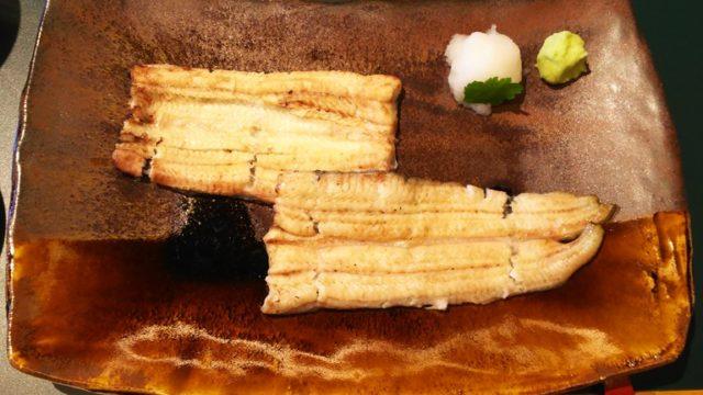 廣川の白焼き