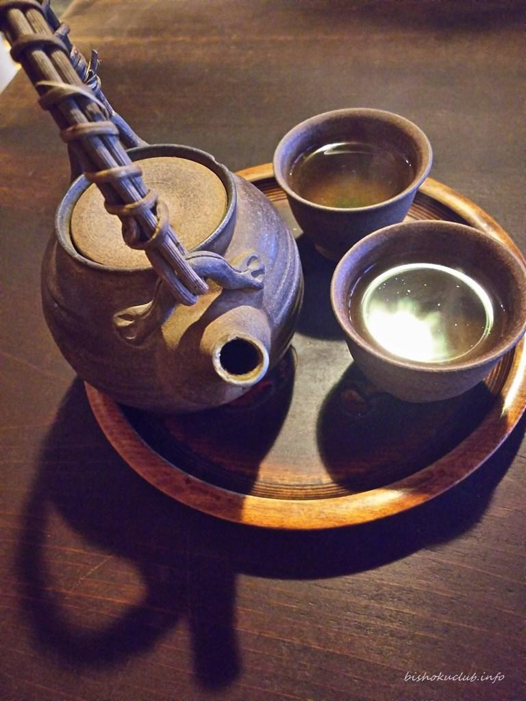 かさぎ屋のお茶