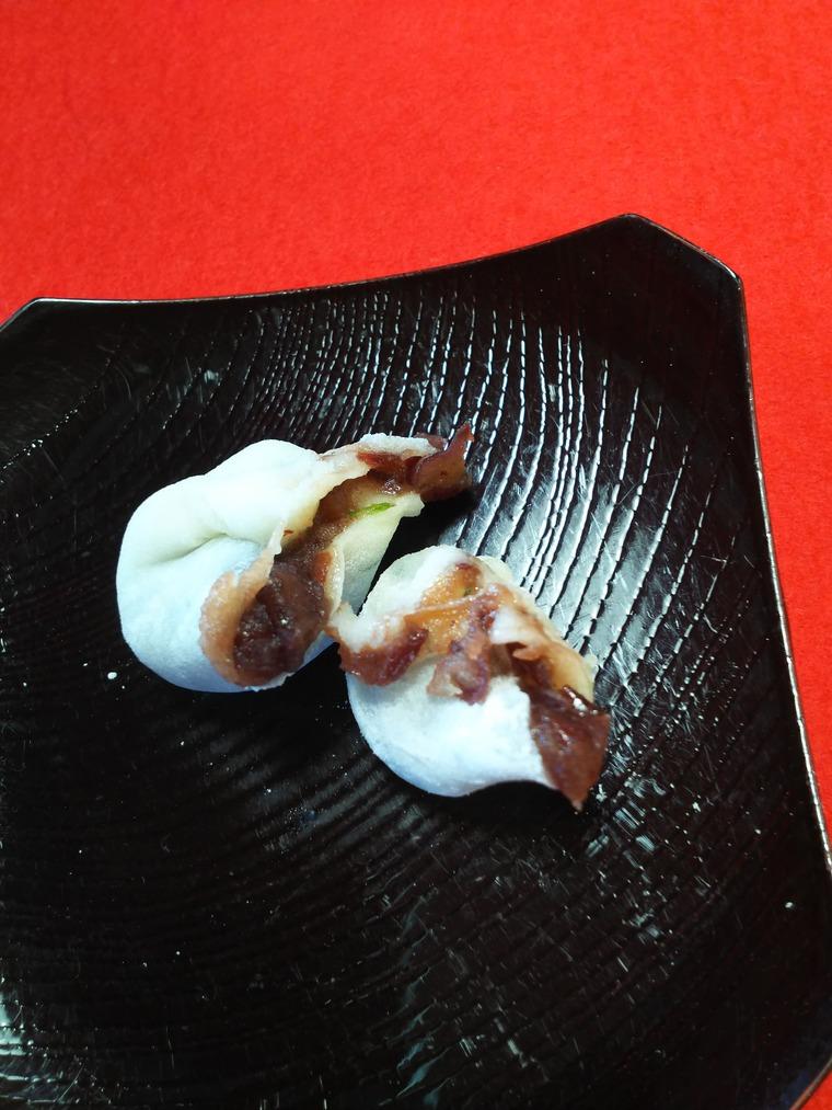 『京都鶴屋 鶴壽庵』の屯所餅の中身