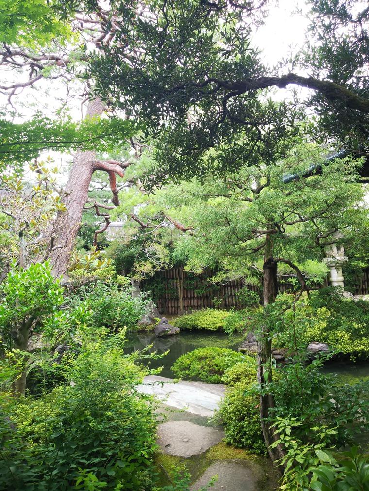 並河靖之記念館の庭
