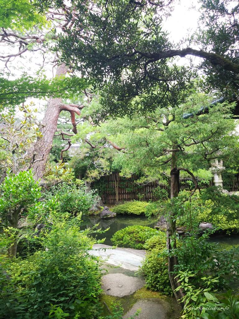 並河靖之七宝記念館の庭