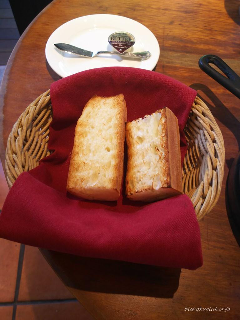 キャピタル東洋亭本店のパン