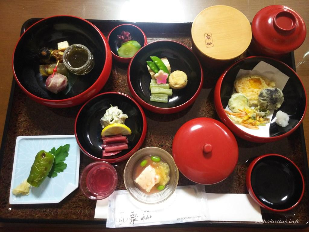 泉仙の精進鉄鉢料理「あやめ」