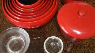泉仙の精進鉄鉢料理完食