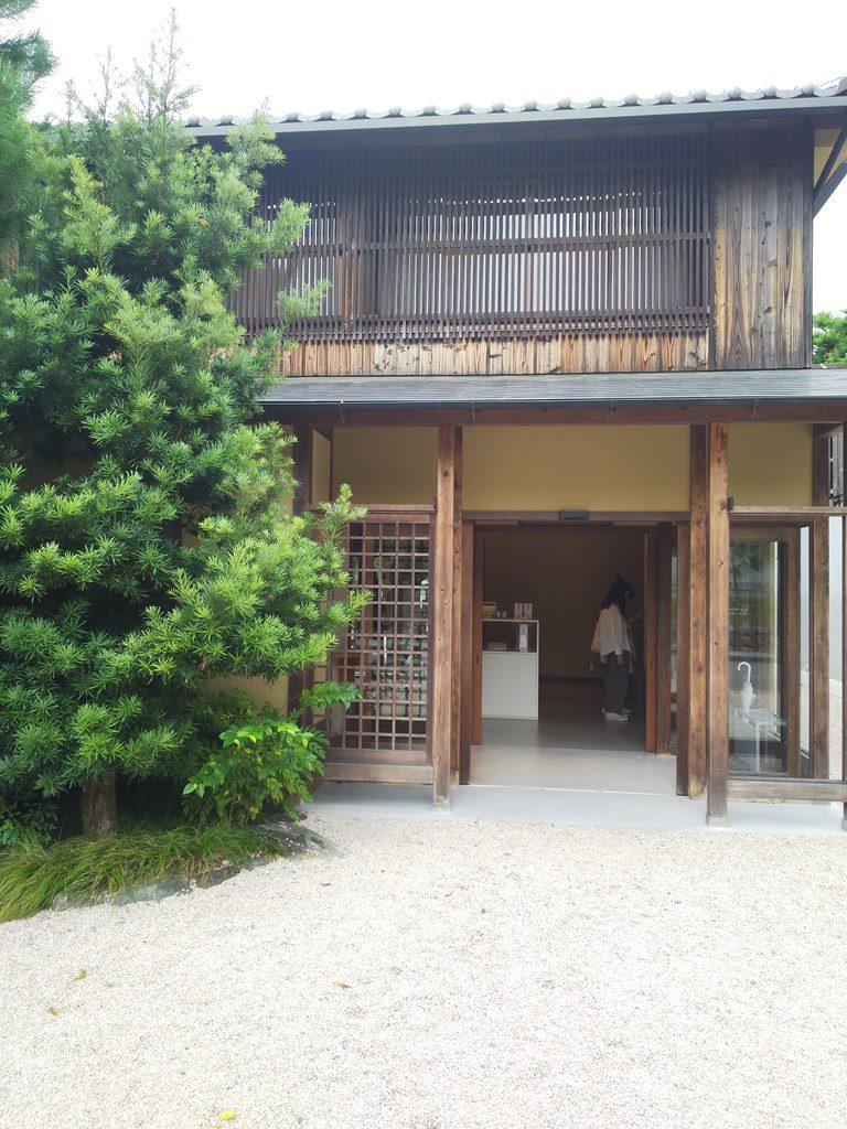 ブルーボトルコーヒー京都カフェの外観