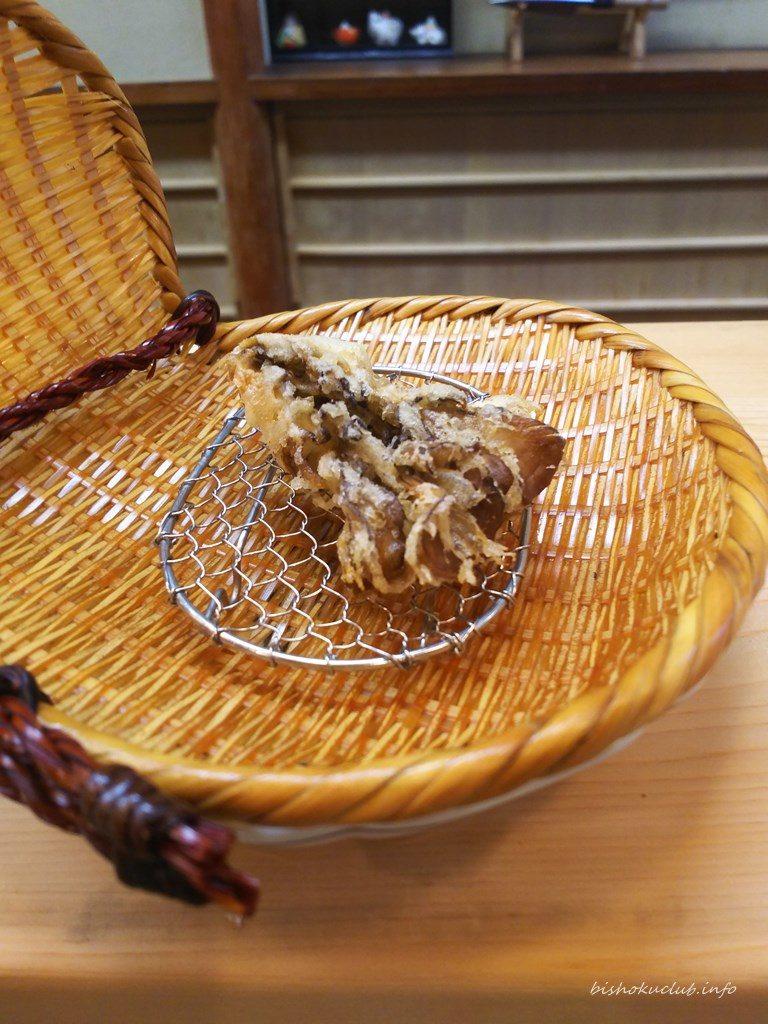 喜久屋の天婦羅(まいたけ)