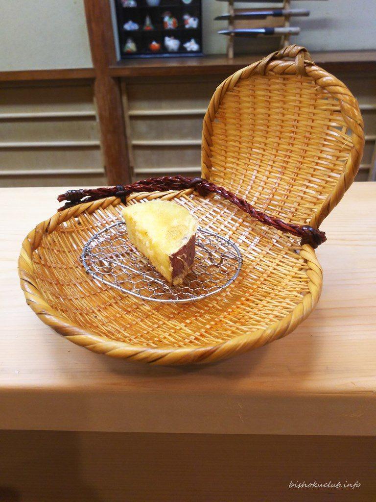 喜久屋の天婦羅(さつま芋)