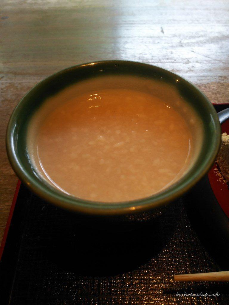文の助茶屋の甘酒