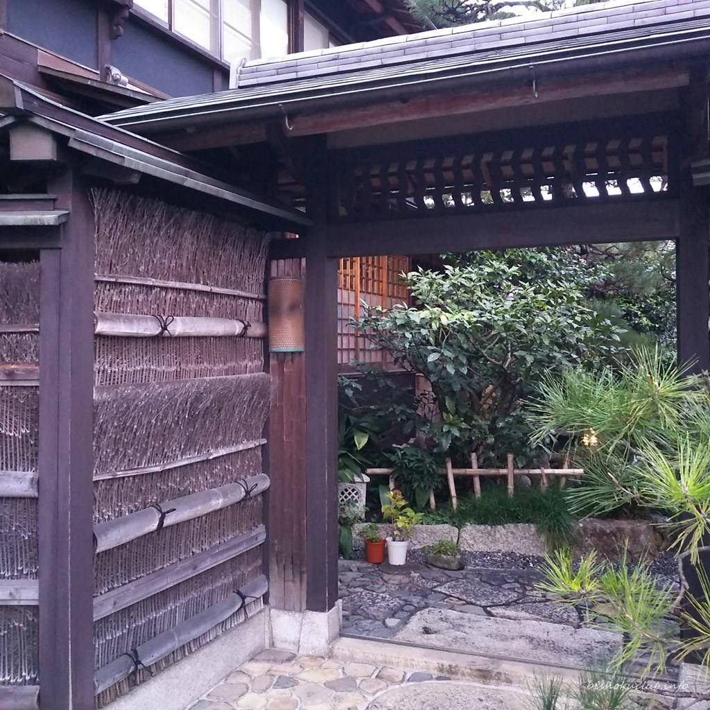 大徳寺一久の入り口