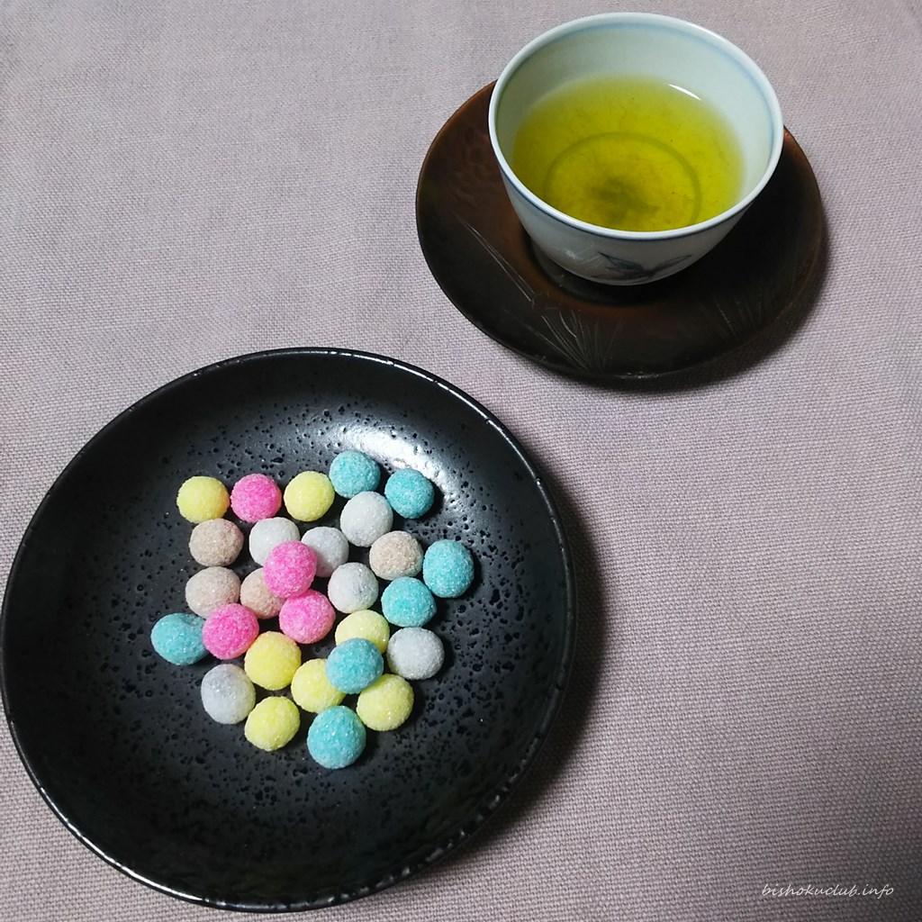 松屋藤兵衛の織姫と緑茶
