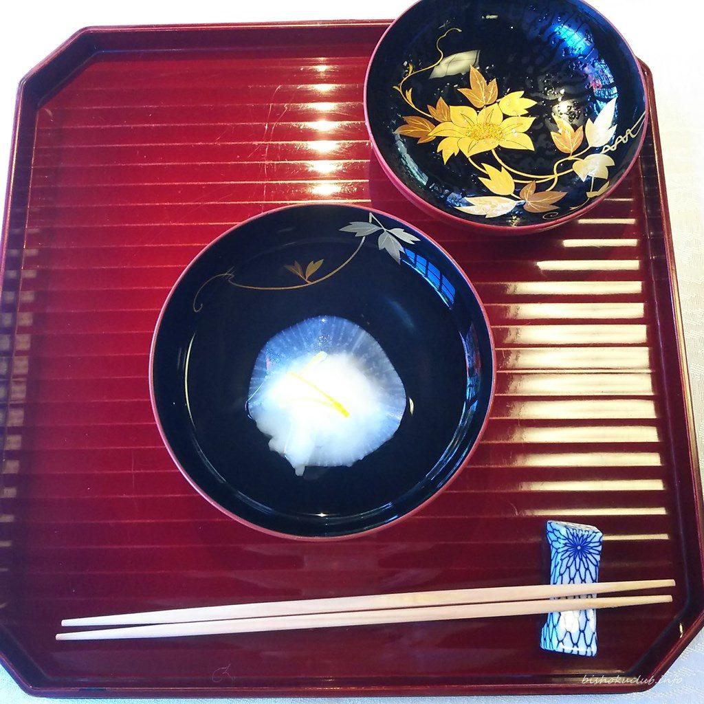 下鴨茶寮の椀物