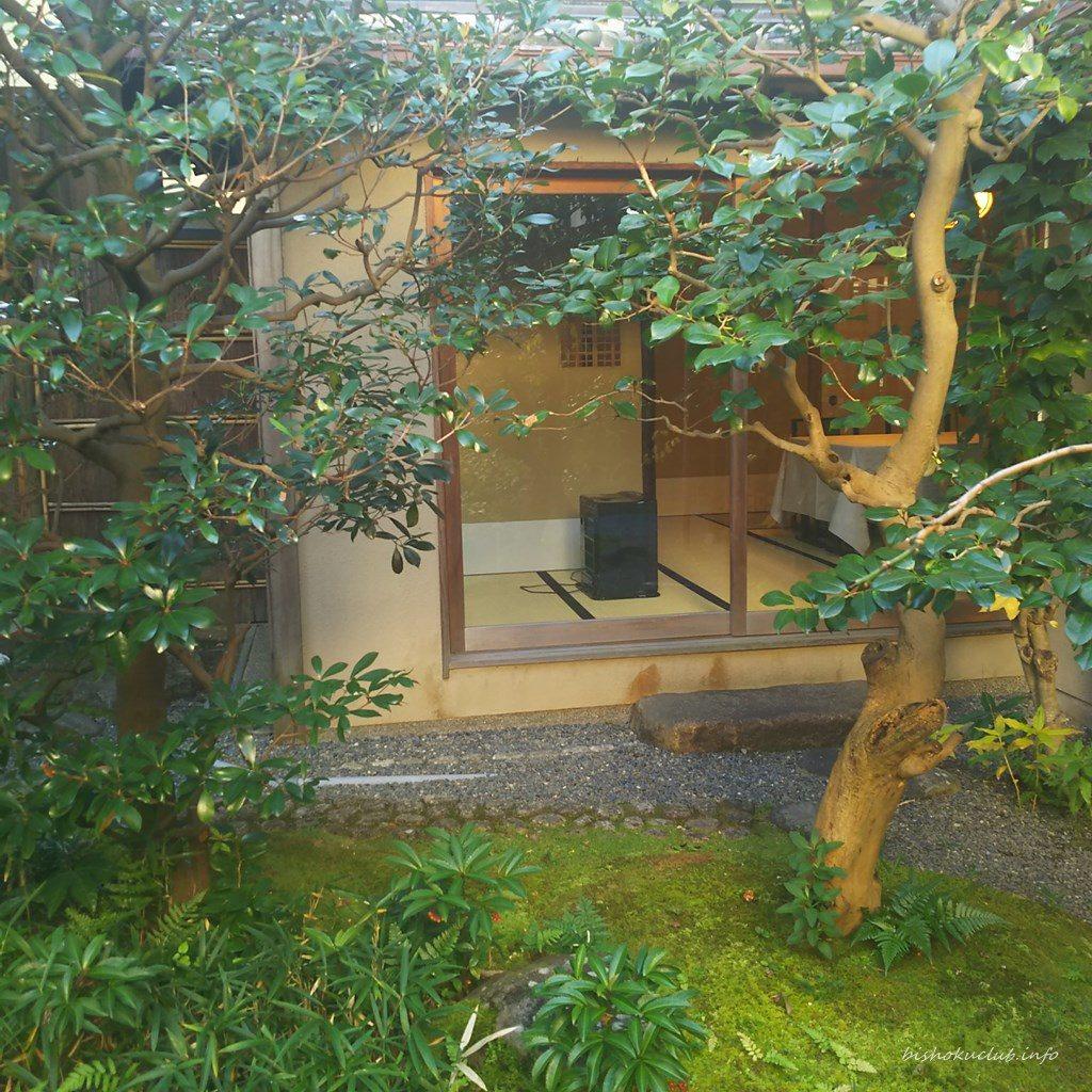 下鴨茶寮の個室