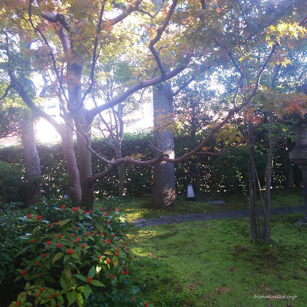 下鴨茶寮の庭