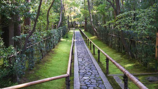 大徳寺 高桐院の入り口