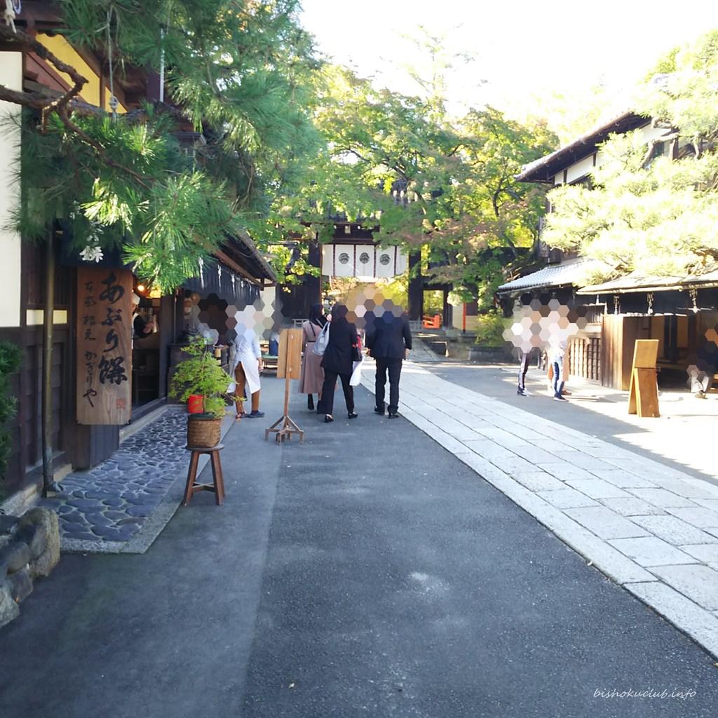 今宮神社の参道
