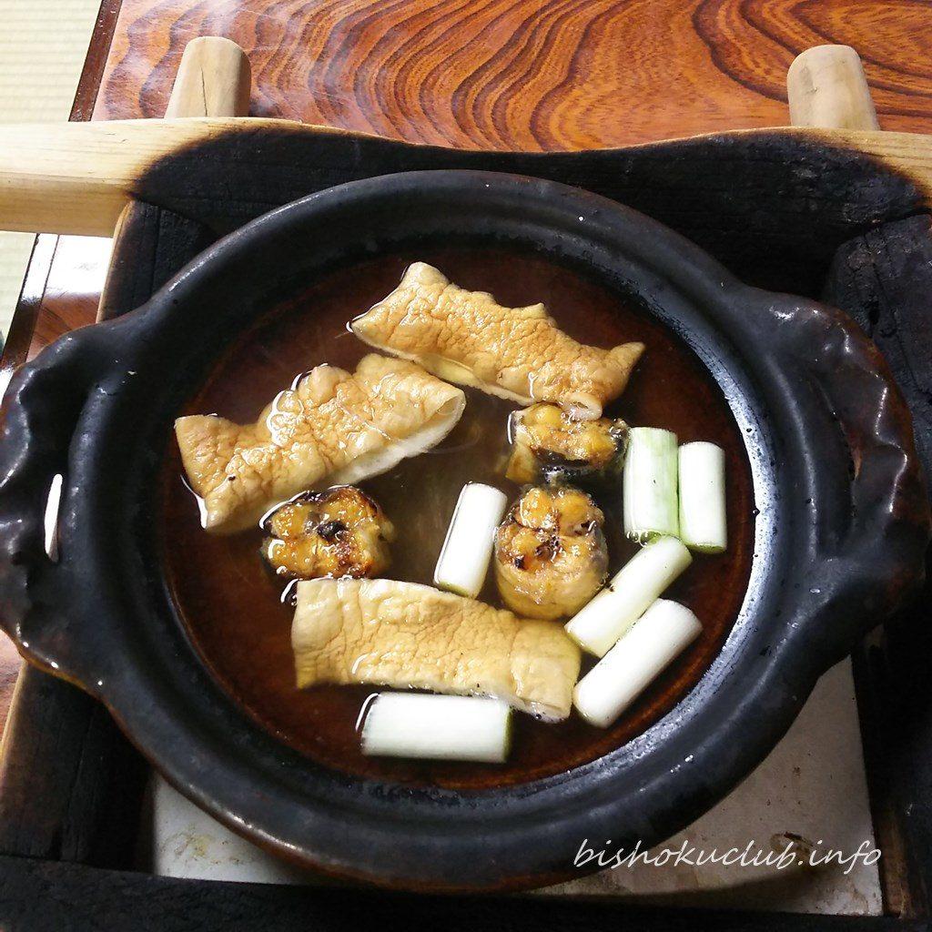 わらじやの鰻鍋