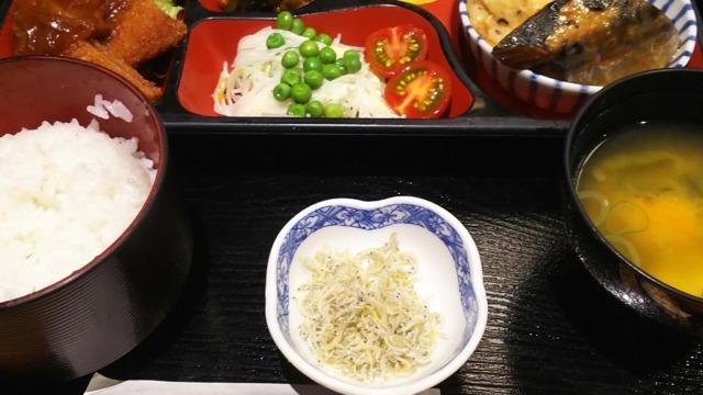 ごはん処矢尾定の日替定食